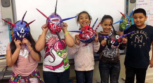 PS 86 - Mask making project